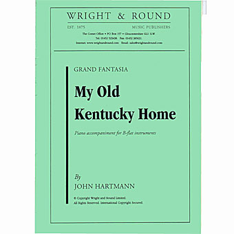 My Old Kentucky Home - Hartmann - Bb Solo With Piano