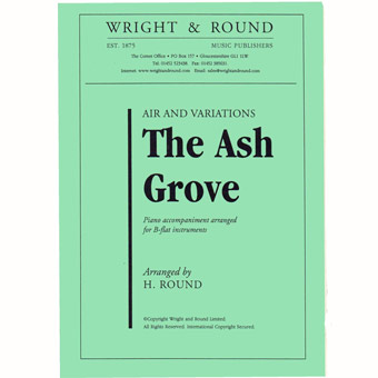 The Ash Grove - Bb & Piano - Arr Round