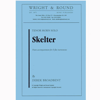 Skelter - Broadbent - Tenor Horn & Piano