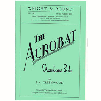 The Acrobat - J.A Greenwood - Trombone & Piano