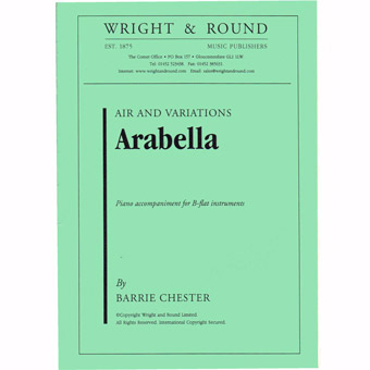 Arabella - Bb Solo & Piano - Chester