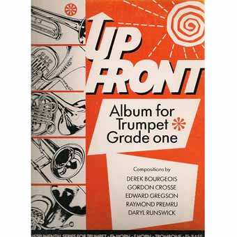 Up Front Album For Trumpet - Book One