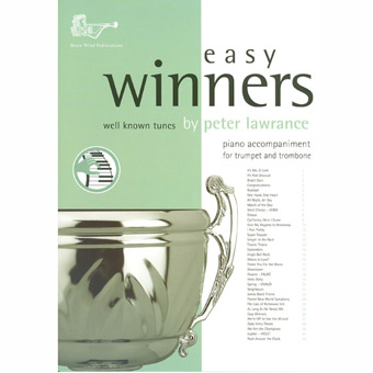 Easy Winners - Piano Accompaniment -Treble Brass