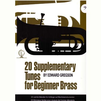 20 Supplementary Tunes for Beginner Brass - Gregson (Bass Clef)