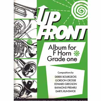 Up Front Album For F Horn - Book 1