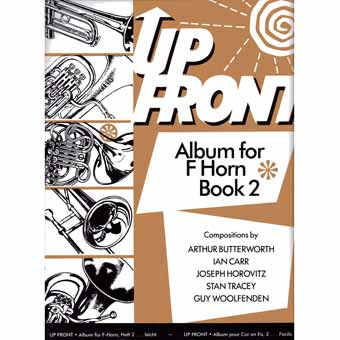 Up Front Album For F Horn - Book 2