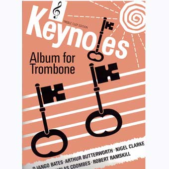 Keynotes Album For Trombone - Treble Clef