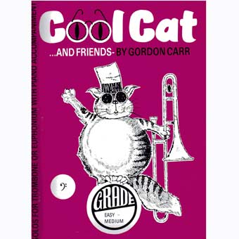 Cool Cat and Friends - Trombone - Bass Clef