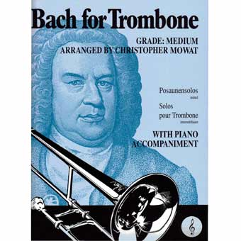 Bach For Trombone - Treble Clef