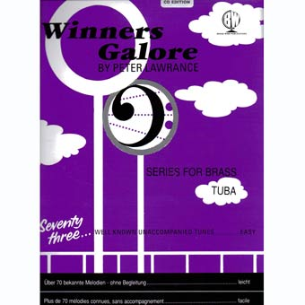 Winners Galore - Tuba - Bass Clef + CD