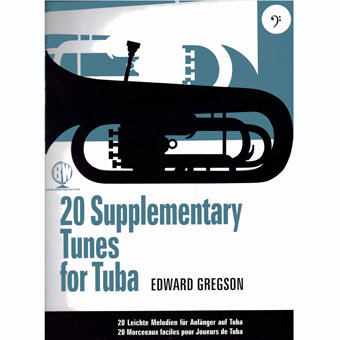 20 Supplementary Tunes For Tuba - Bass Clef