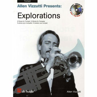 Explorations For Trumpet (Book And CD) - Allen Vizzutti