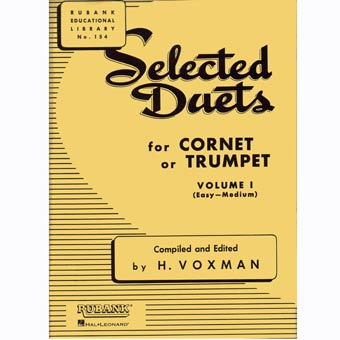 Selected Duets For Cornet Or Trumpet - Volume 1