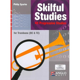 Skilful Studies For Trombone (BC + TC) - Philip Sparke