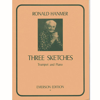 Three Sketches For Trumpet + Piano - Ronald Hanmer