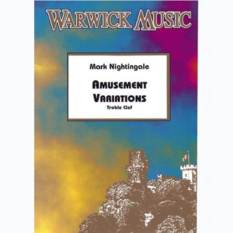 Amusement Variations - Trombone - Treble Clef - Mark Nightingale