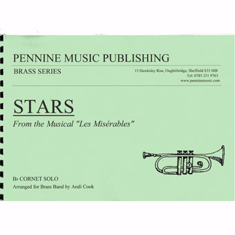 Stars (Les Miserables) - Bb Cornet Solo & Band - Arr Cook