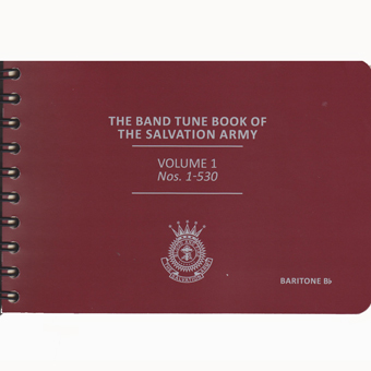 The New Band Tune Book Of The Salvation Army Book 1 - Baritone - Nos. 1-530