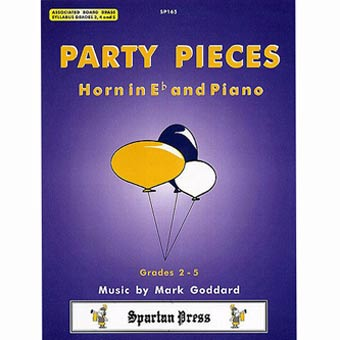 Party Pieces For Eb Horn - Goddard