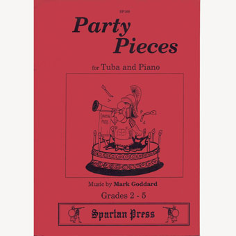 Party Pieces For Tuba & Piano - Mark Goddard