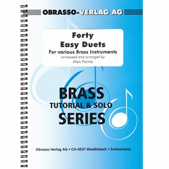 Forty Easy Duets For Various Brass Instruments
