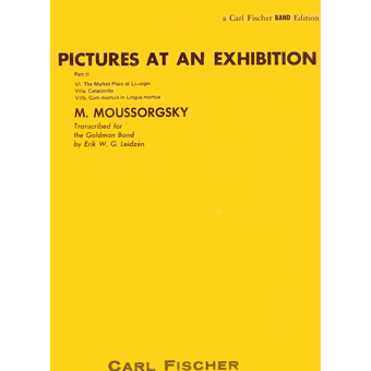 Pictures At An Exhibition - Part II - M. Moussorgsky - Concert Band