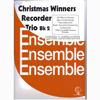 Christmas Winners For Recorder Trio - Book 2