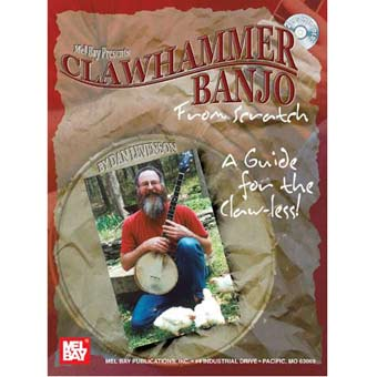 Clawhammer Banjo from Scratch - Book/2-CD Set