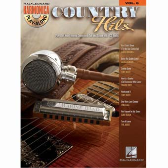 Harmonica Play Along Volume 6 - Country Hits