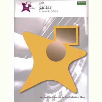 Music Medals Gold Guitar Ensemble Pieces