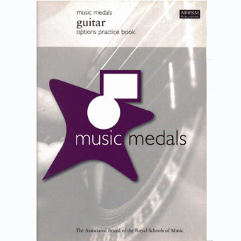Music Medals - Guitar Options Practice Book