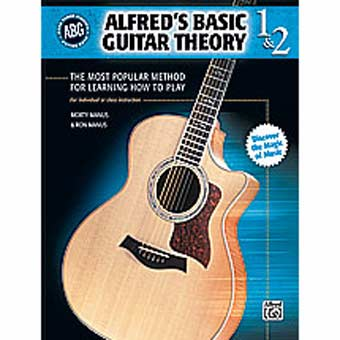 Alfred's Basic Guitar Theory - Books 1 & 2