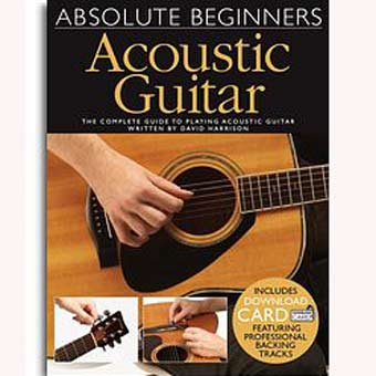 Absolute Beginners - Acoustic Guitar (Book/Audio Download)
