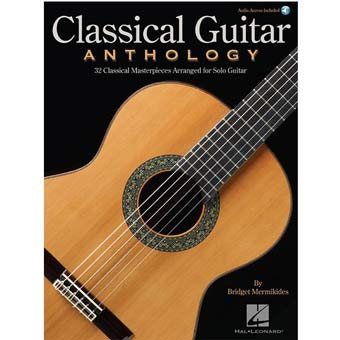 Classical Guitar Anthology - Book/Online Audio