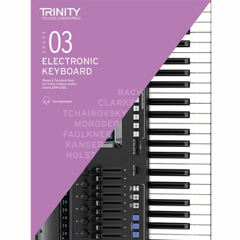 Electronic Keyboard Exam Pieces 2019-2022 - Grade 3