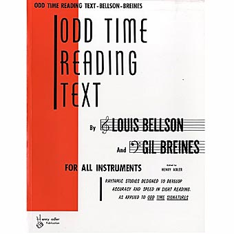Odd Time Reading Text - Louis Bellson & Gil Breines