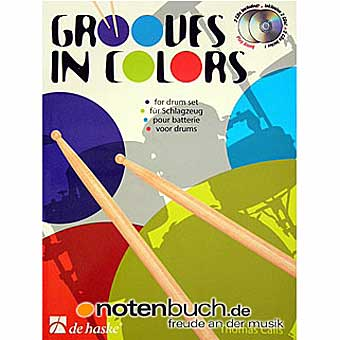 Grooves In Colors - Drumset - Thomas Calis