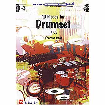 10 Pieces For Drumset + CD - Thomas Calis