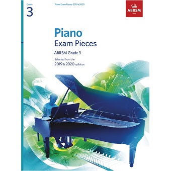 Grade 3 Piano Exam Pieces - 2019 / 2020