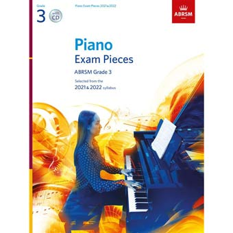 Grade 3 Piano Exam Pieces + CD 2021/2022