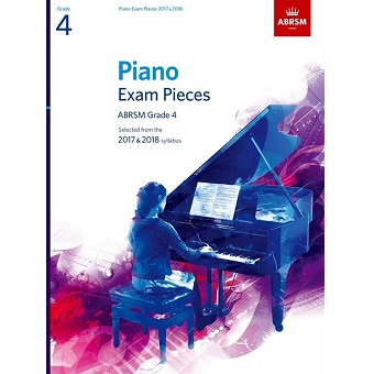 Grade 4 Piano Exam Pieces - 2017 / 2018