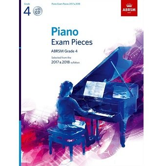Grade 4 Piano Exam Pieces + CD 2017 / 2018