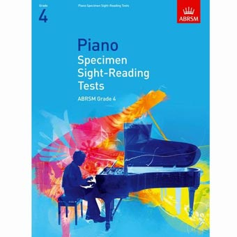 Piano Specimen Sight Reading Tests - Grade 4