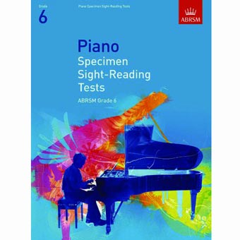 Piano Specimen Sight Reading Tests - Grade 6