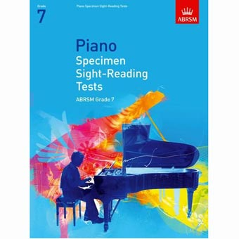 Piano Specimen Sight Reading Tests - Grade 7