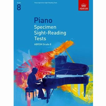 Piano Specimen Sight Reading Tests - Grade 8