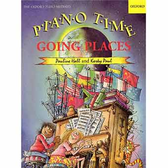 Piano Time Going Places - Pauline Hall