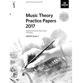 2017 Theory Of Music Papers Grade 1