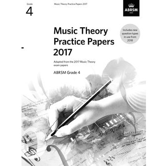 2017 Theory Of Music Papers Grade 4