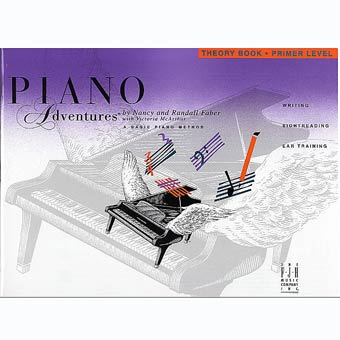 Faber Piano Adventures - Theory Book - Primer Level